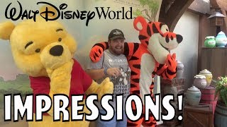The Audience Gets Involved?!! - Disney World Impressions