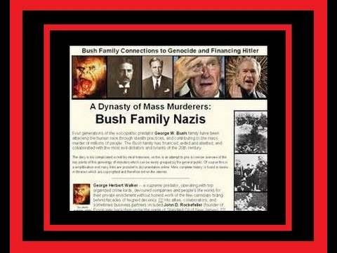 The Bush Family and Nazi Connection , TRUTH , MUST SEE !!
