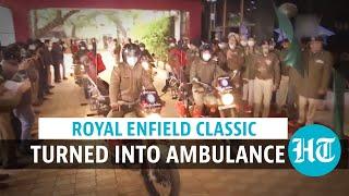 Watch: CRPF inducts DRDO-developed bike ambulance, Rakshita, for remote areas