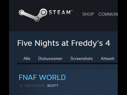 FNAF World !!! -  Bild Analyse