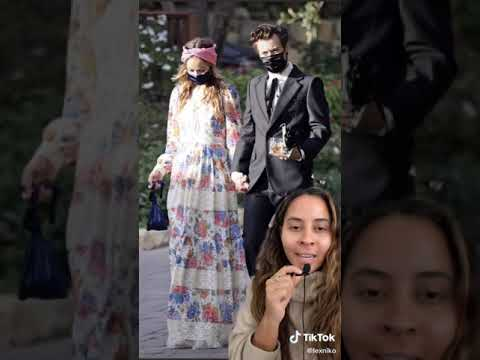 Harry Styles And Olivia Wilde Are Dating TikTok: lexniko