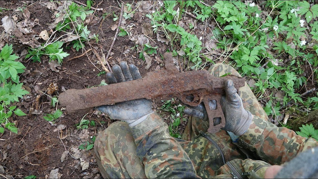 Нашли пулемет на поверхности, раскопкипо войне n 39 / part 1.