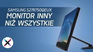 Rewolucja wśród monitorów | recenzja, test Samsung S27R750QEUX (The Space)