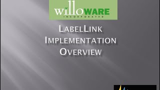 WilloWare LabelLink for Microsoft Dynamics GP - Technical Training