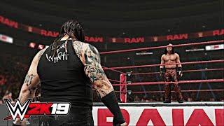 WWE 2K19 - Bray Wyatt Break Up With Matt Hardy Realistic in Ring PROMO (Exclusive)