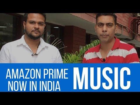 Amazon Prime Music Now In India