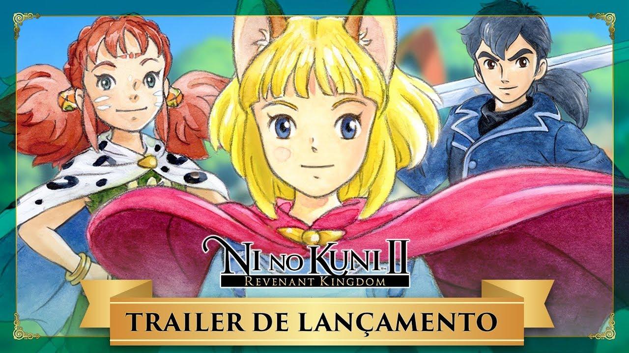 NI NO KUNI 2 Official E3 Trailer (2017) - YouTube