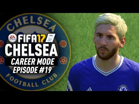 SIGNING MESSI TO CHELSEA FOR FREE!!! FIFA 17 Chelsea Career Mode #19