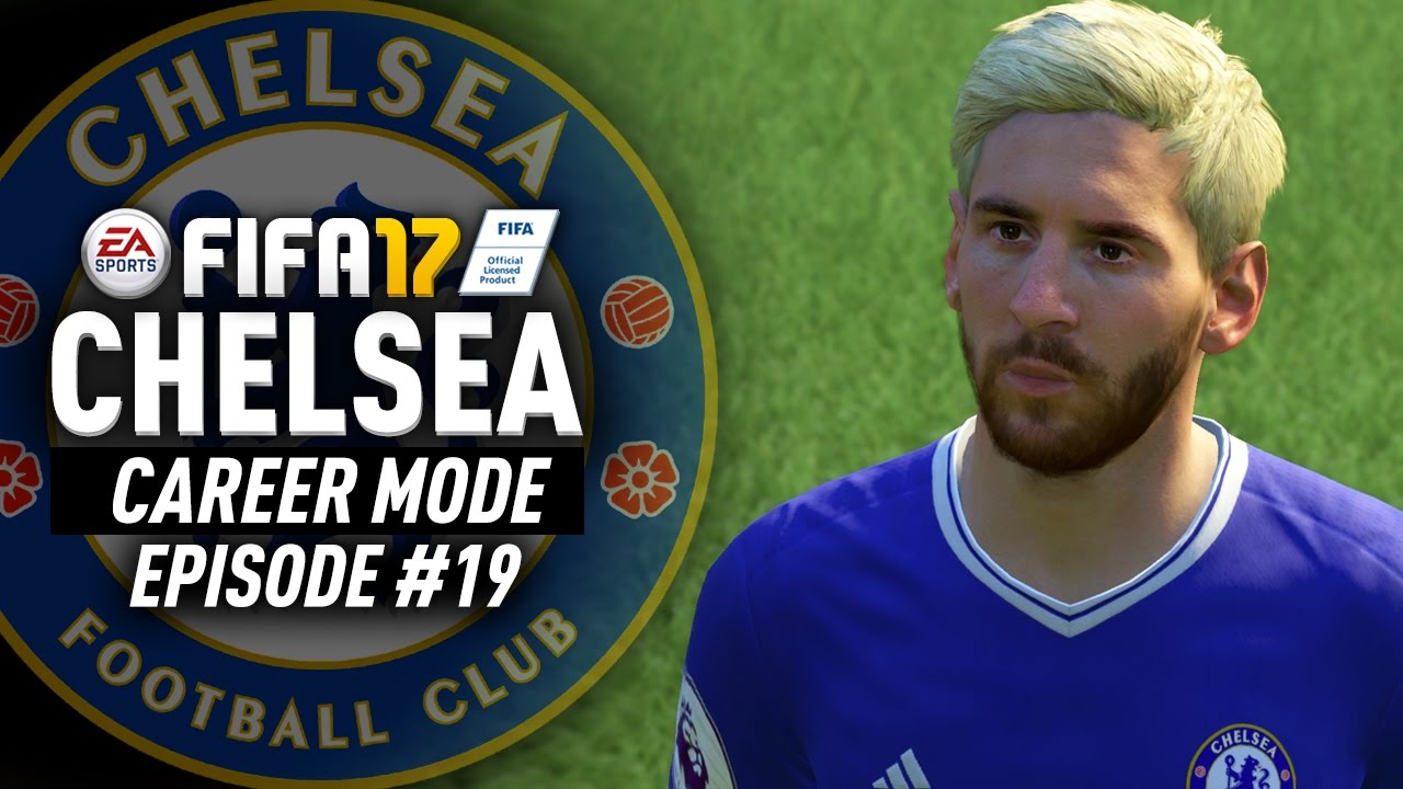 half off e7723 069ee SIGNING MESSI TO CHELSEA FOR FREE!!! FIFA 17 Chelsea Career Mode #19