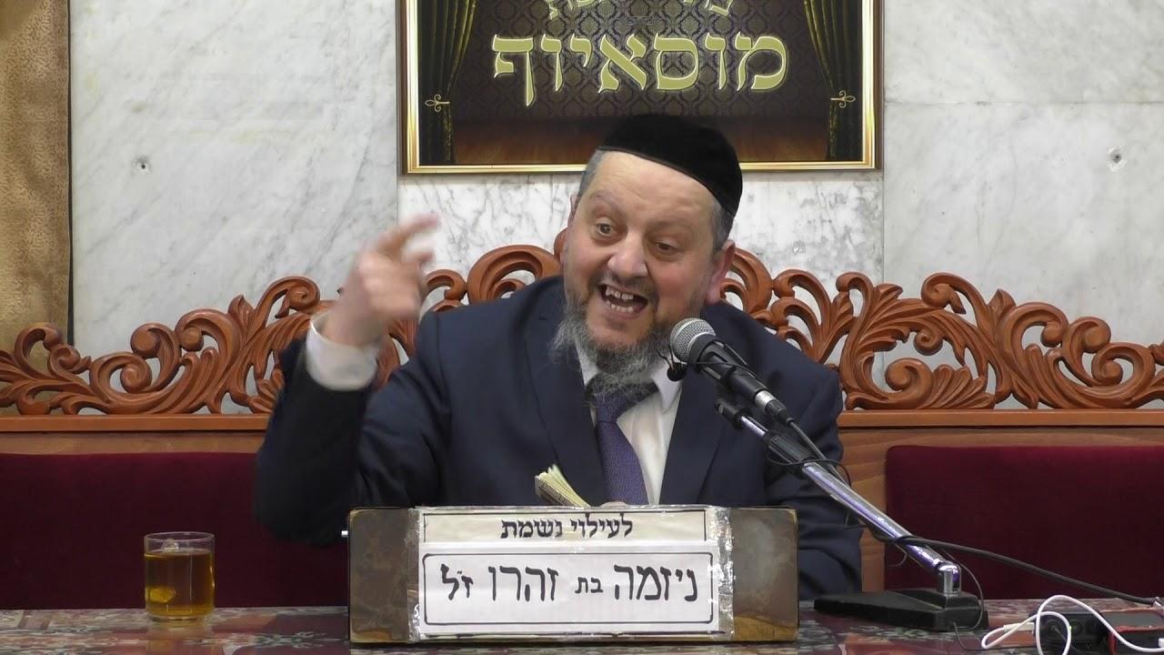 הרב עזריה כהן דיני ברכות וכן על פטירת הרמב ם הגדול