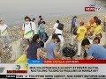 BT: Mga volunteer mula sa gov't at private sector, nagtulong-tulong sa paglilinis sa Manila Bay