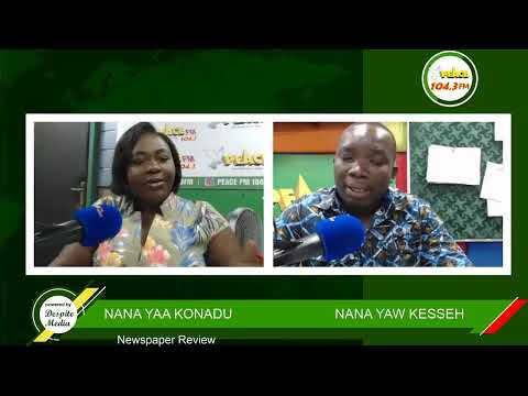 Newspaper Review On Peace 104.3 FM (28/09/2020)