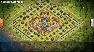 Th11 Spawn Base (get limited time obstacles on the outside of your base) | Clash of clans