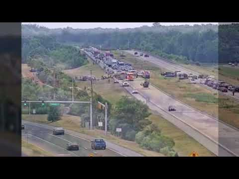 Delaware Route 1 Crash Emergency Response Radio Traffic