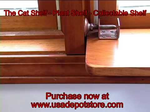 The Cat Shelf - Plant Shelf - Collectible Window Shelf by ...