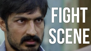 Vil Ambu - Fight scene | Sri | Harish | Srushti Dange
