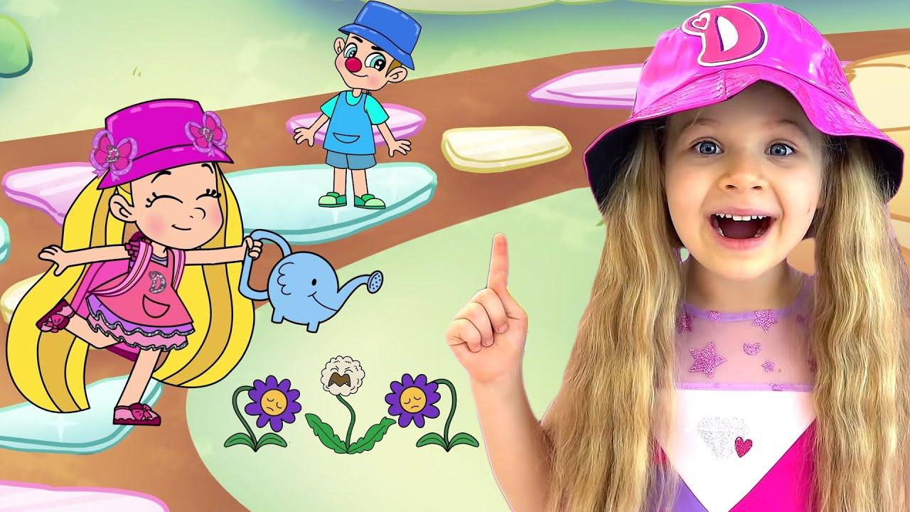 ダイアナとローマ、子供向けの面白いアニメストーリー