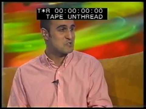 Hari Kunzru + Rorschach Audio author Joe Banks - Sky TV - 1999