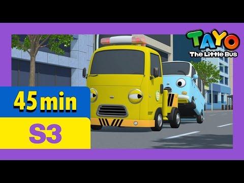 [Tayo S3] Full Episodes S3 E09-E12 (3/7) l Gani the super star l Toto and Bongbong l Laugh, Pat l