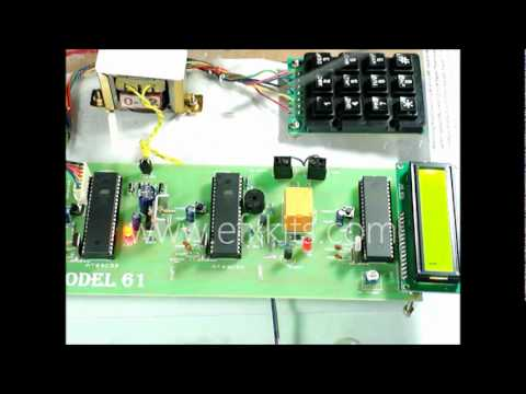 Microcontroller Based Embedded System Using CAN Protocol Project