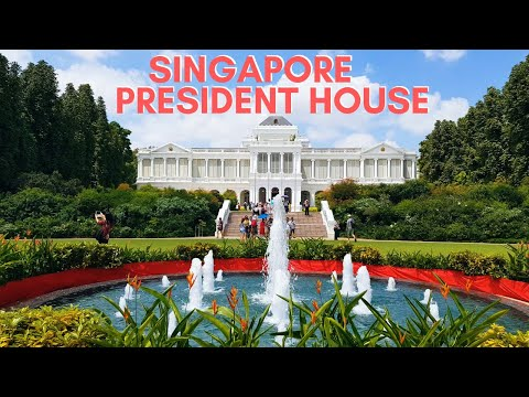 Singapore President's House Complete Tour | Istana 2020 | National Day - Istana Open House