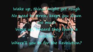 Kid Cudi-  REVOFEV Lyrics on Screen HD