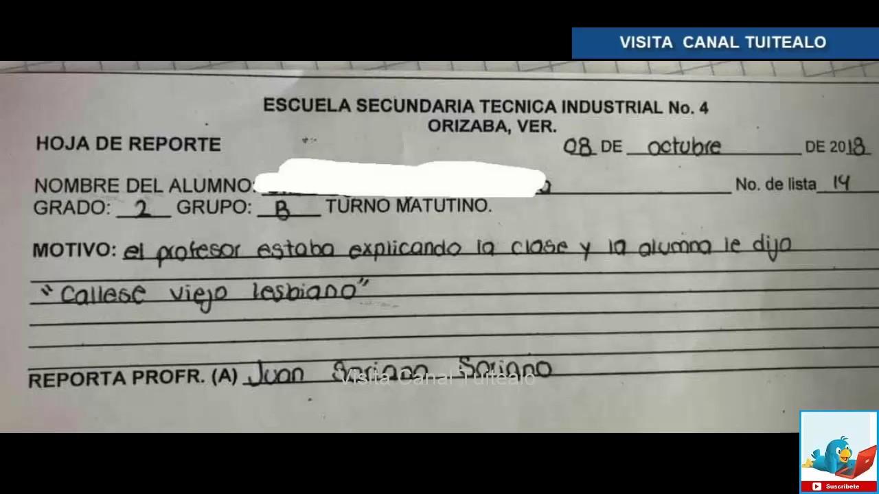 Sancionan a niña por decir a su maestro 'cállese viejo lesbiano' en Veracruz #1