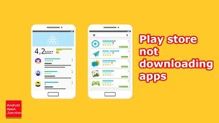 Apps not downloading from play store