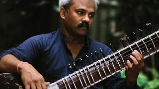 A mind-blowing Sitar player