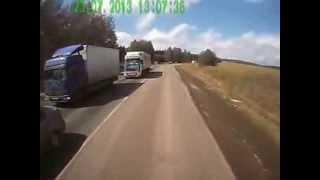 Переговоры дальнобойщиков пропускающие фуру без тормозов. Brakes failed(, 2014-01-25T12:46:15.000Z)