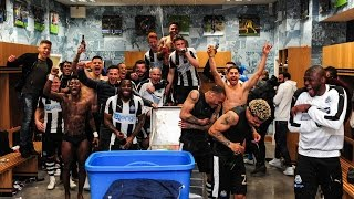 Behind the scenes   newcastle united clinch promotion