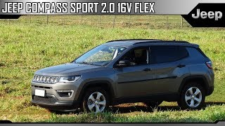 Avaliação Jeep Compass Sport 2.0 16v Flex (Canal Route 99)