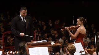 Koncert skrzypcowy D-dur op.77 Johannesa Brahmsa (skrzypce: A. Szymczewska, dyrygent: M. Vengerov)