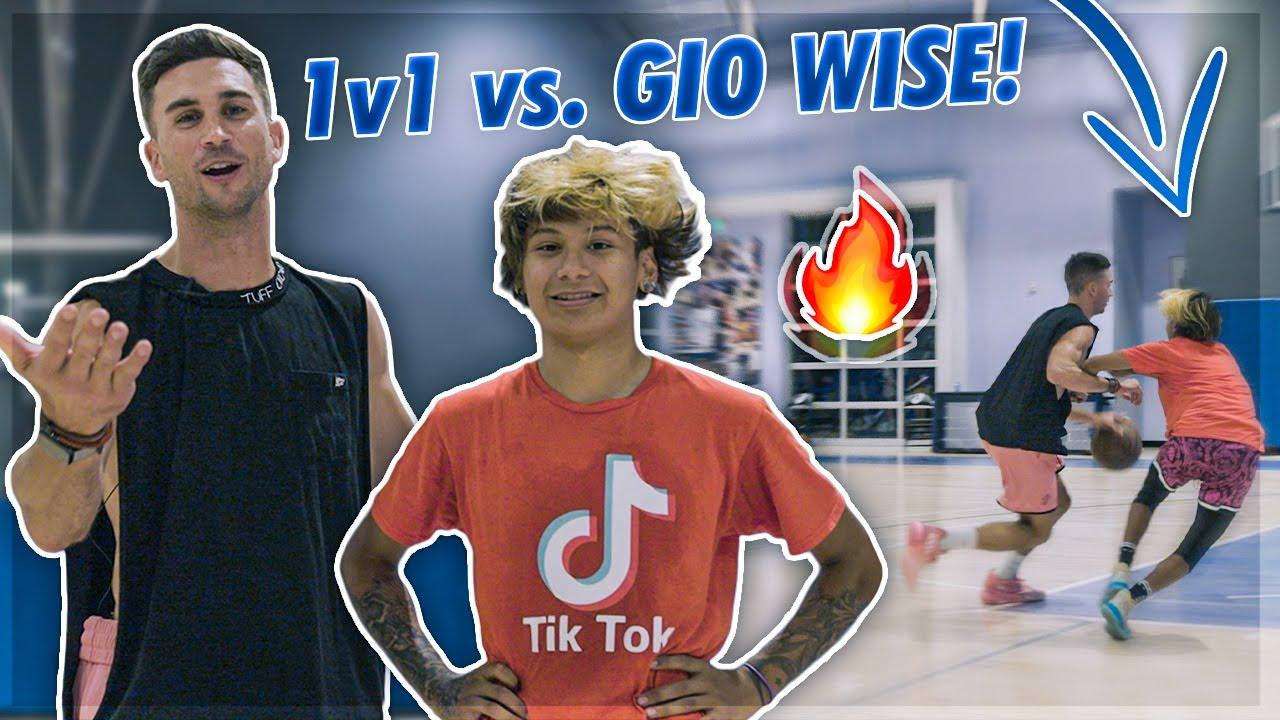 Download 1v1 Against Gio Wise! 😂   Jordan Lawley Basketball