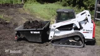 Bobcat Dumping Hopper Attachment