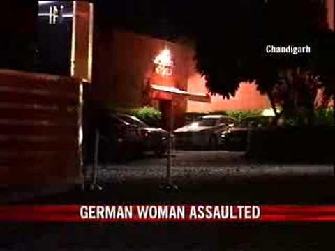 German girl gangraped in
