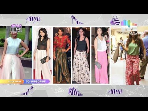 Style Tab - Palazzo | Aditi Rao Hydari | Aishwarya Rai Bachchan | Soha Ali Khan | MTunes HD