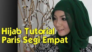 Hijab Tutorial Paris Segi Empat Modern dan Simple