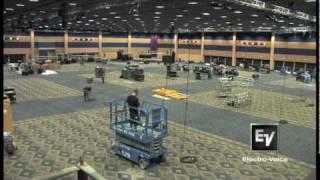 Video InfoComm 2010 time-lapse Demo Room Setup download MP3, 3GP, MP4, WEBM, AVI, FLV Agustus 2018