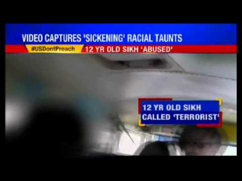 Young Sikh Boy Racially Abused in US