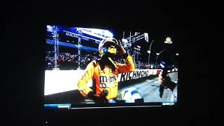 2018 Federated Auto Parts 400 Finish Reaction