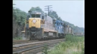 "CONRAIL... 1976, ""THE COLORFUL YEARS"",    Part II"