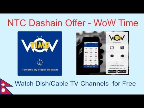 How to watch free dish/cable TV channels on Mobile - NTC  Dashain Offer