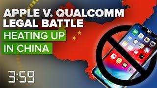 Apple, Qualcomm legal battle heats up in China (The 3:59, Ep. 501)