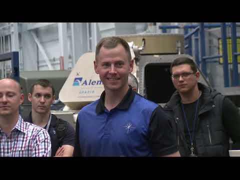 Expedition 57 Broll Nick Hague training - September 18, 2018