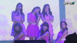 "25/10/13 Vizit Korea - Apink "" Secret Garden In Singapore"" Concert - My My, U You & Lovely Day"