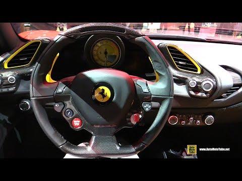 2017 Ferrari 488 GTB - Interior Walkaround - 2016 Paris Motor Show