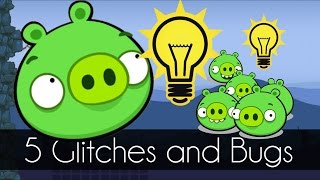 Bad Piggies - 5 GLITCHES YOU DIDN'T KNOW (Field of Dreams)