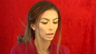 Valentine's Day Get Ready With Me Look! Winged Liner & Red lips Talk Through