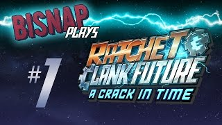Let's Play Ratchet & Clank Future: A Crack in Time - Episode 1